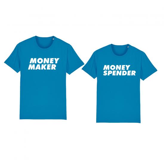 Тениски за двойки  MONEY MAKER / MONEY SPENDER