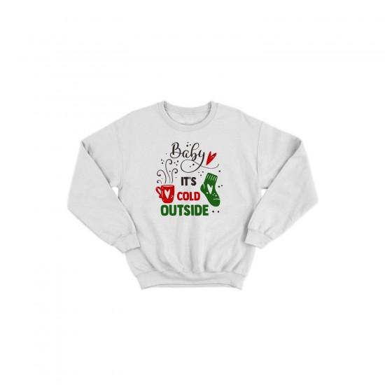 Детска Коледна блуза BABY IT'S COLD OUTSIDE