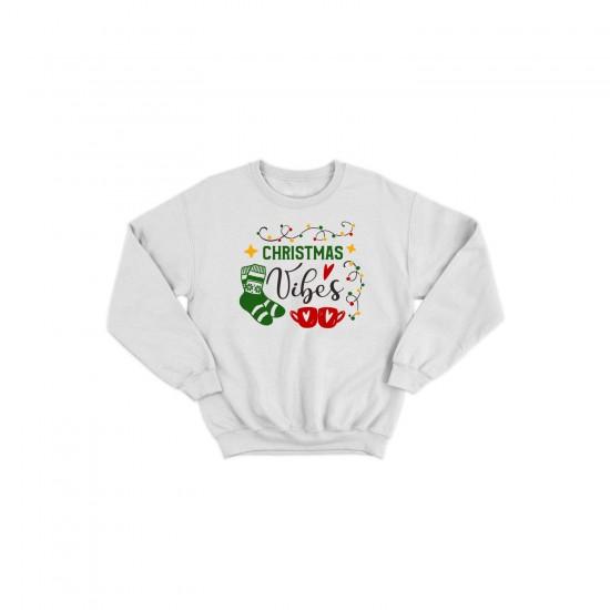 Детска Коледна блуза CHRISTMAS VIBES