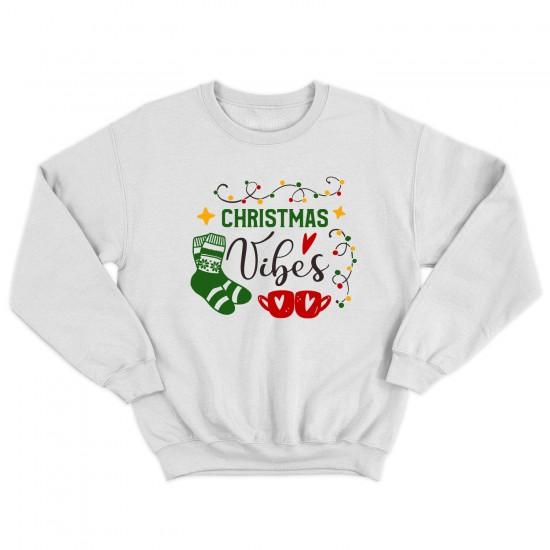 Мъжка Коледна блуза CHRISTMAS VIBES