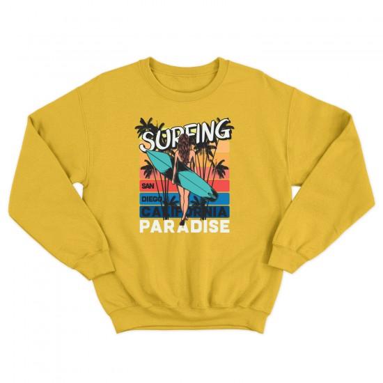 Мъжка блуза с щампа SURFING PARADISE