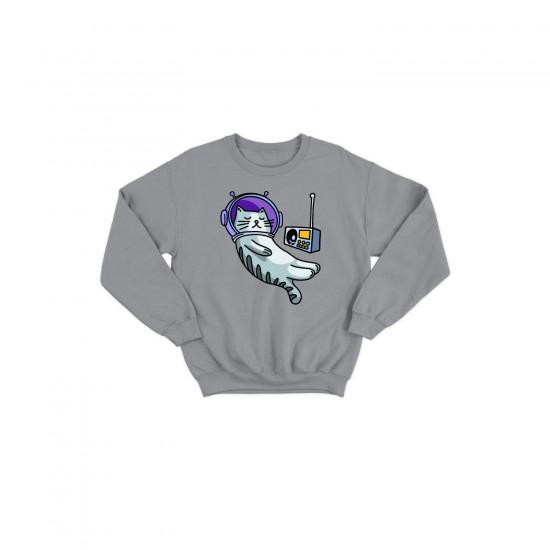 Детска блуза с щампа АСТРО КОТКА