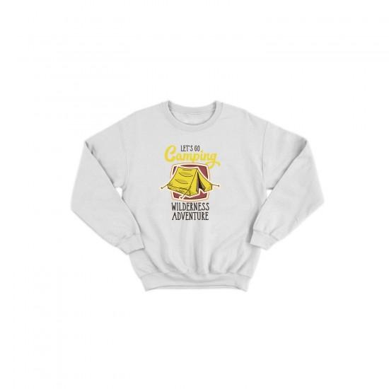 Детска блуза с щампа CAMPING