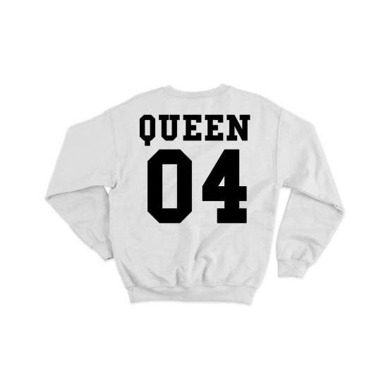 Блузи KING / QUEEN + цифри по Ваш избор