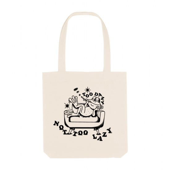 Памучна торба Not Too Lazy