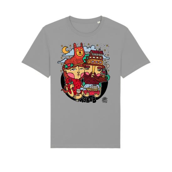 """Тениска с дизайн """"Трифон и Валентина"""""""