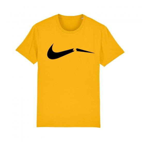 Мъжка тениска с щампа НАЙК / BROKEN NIKE