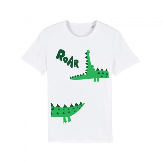 Мъжка тениска с щампа CROCODILE / КРОКОДИЛ