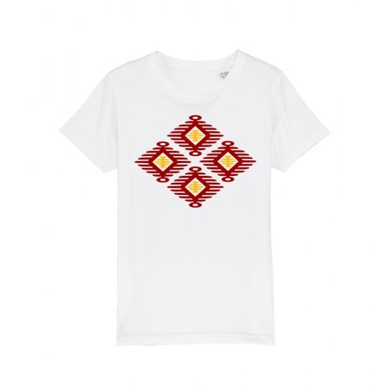 Детска тениска с щампа шевица КРЪГОВРАТ