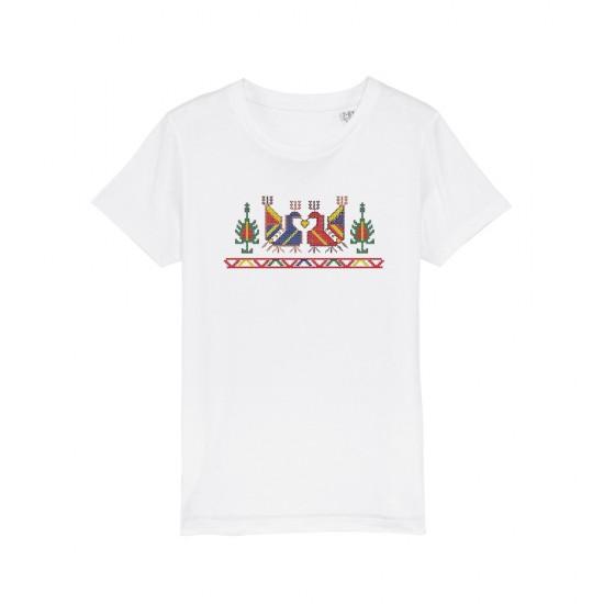 Детска тениска с щампа шевица ПЕТЛЕТА
