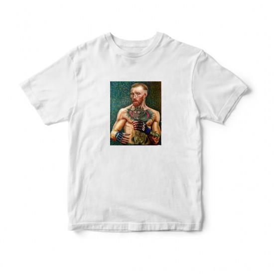 Тениска с щампа Conor McGogh / Конър Мак Гог