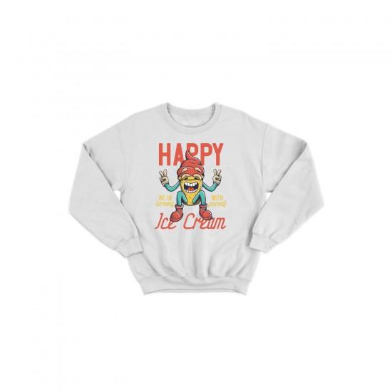 Детска блуза с щампа HAPPY ICE CREAM